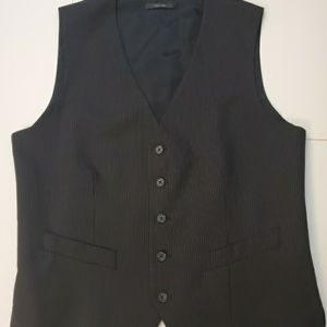 Express men's pinstripe vest